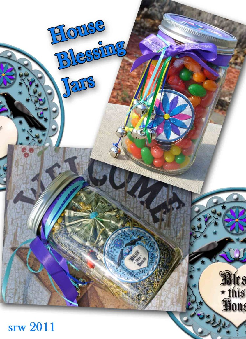Wiccan House Blessing Jars
