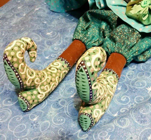 Every BeBoodle's shoes are a work of art in themselves.