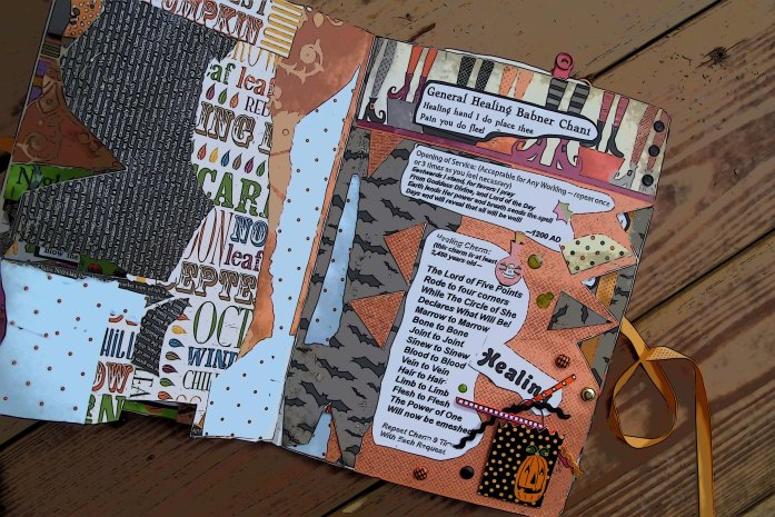 Consider turning your BOS into a colorful scrapbook.