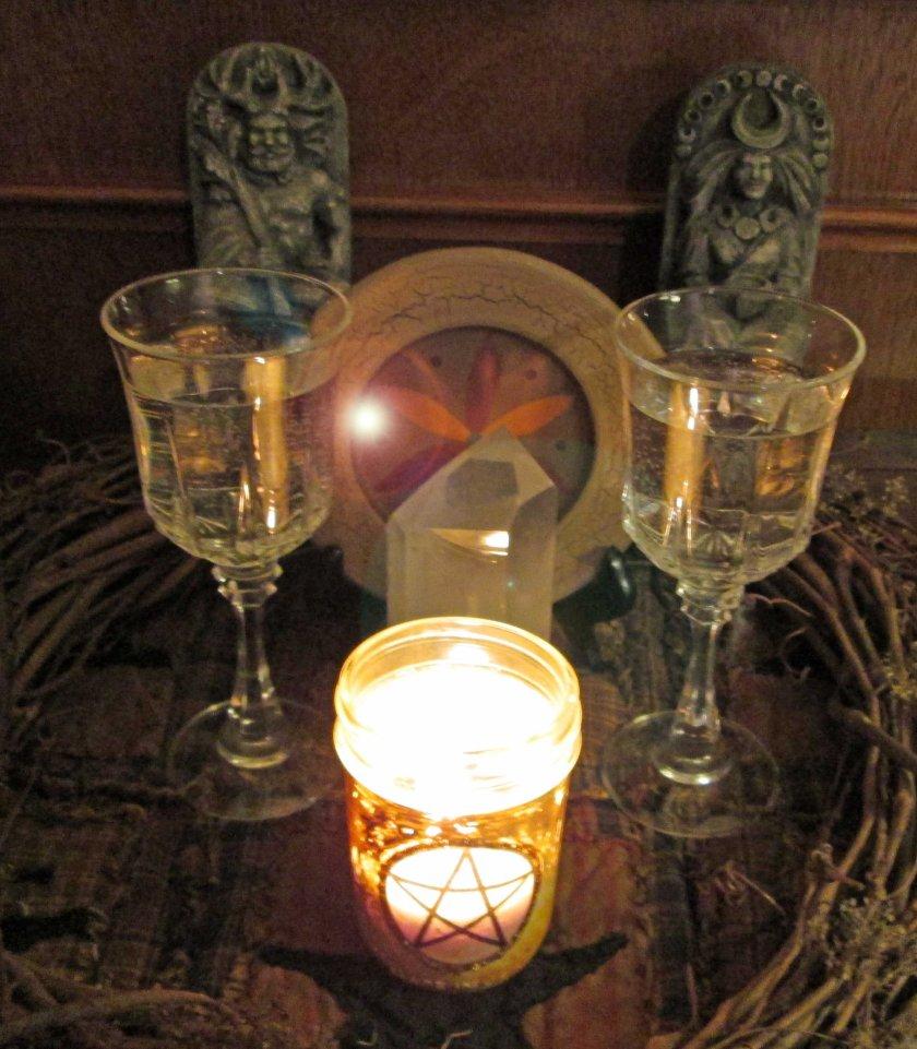 Healing Circle Altar 2013
