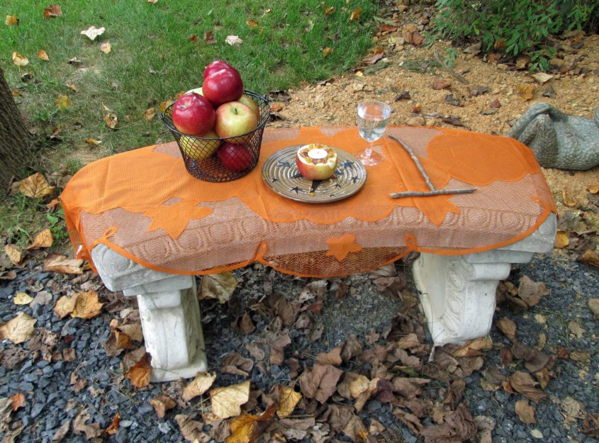An autumn altar.