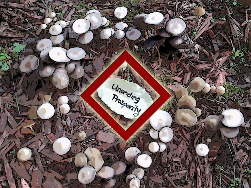 Some believe the rune Ing is ruled by the world of Fairy.  These Light Beings are thought to bless all of nature, and are associated with the prosperity of hearth, crops, pets, and livestock.  This photo shows a natural fairy ring (a ring of mushrooms).  Write your wish for prosperity on a bay leaf and place inside the ring.  Bless the ring and the entities that govern nature.