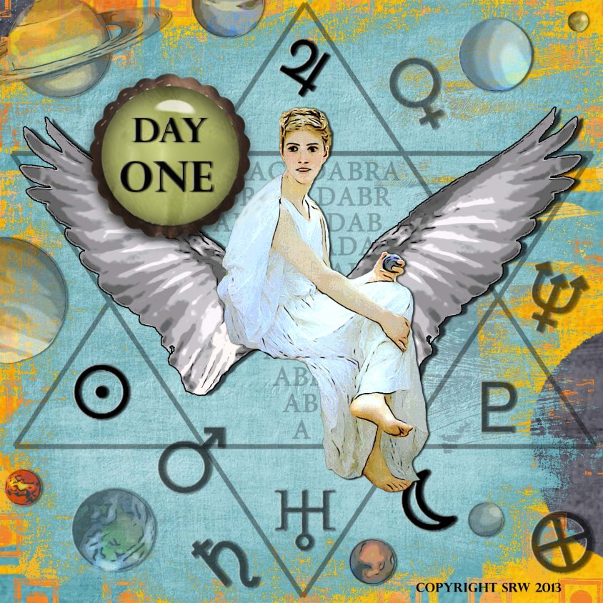 Digital Collage Art by Silver RavenWolf -- Day One of the Great Release Program!