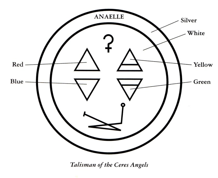 This Ceres Sigil appears in my book -- Angels, Companions in Magick.