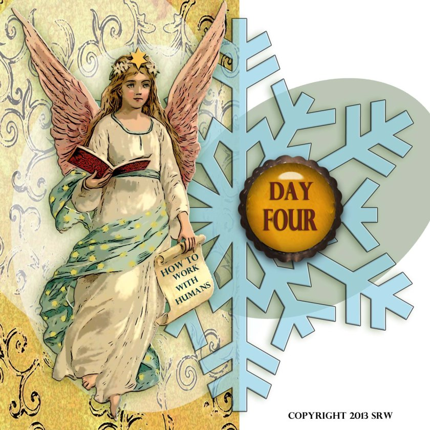 The snowflake is an incredibly magickal form -- this one would include double good luck, protection, and happiness.  The snowflake (itself) holds the power until you activate it -- think of ice -- in stasis.  The snowflake is also the symbol of Dame Holda.