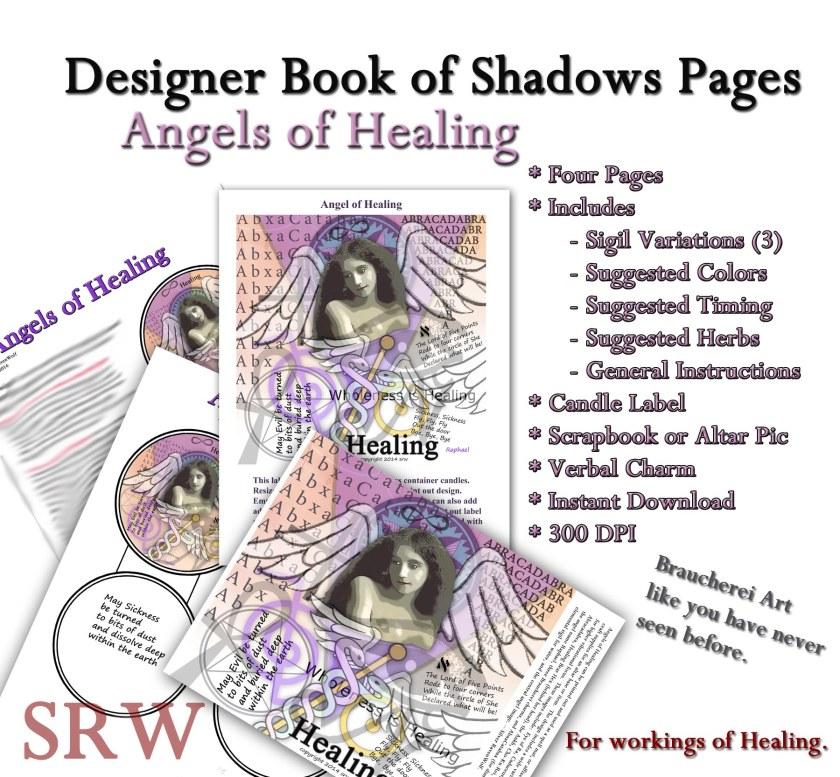 Silver RavenWolf Healing