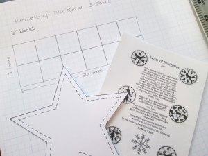 Designing Himmelsbrief Rag Altar Runner