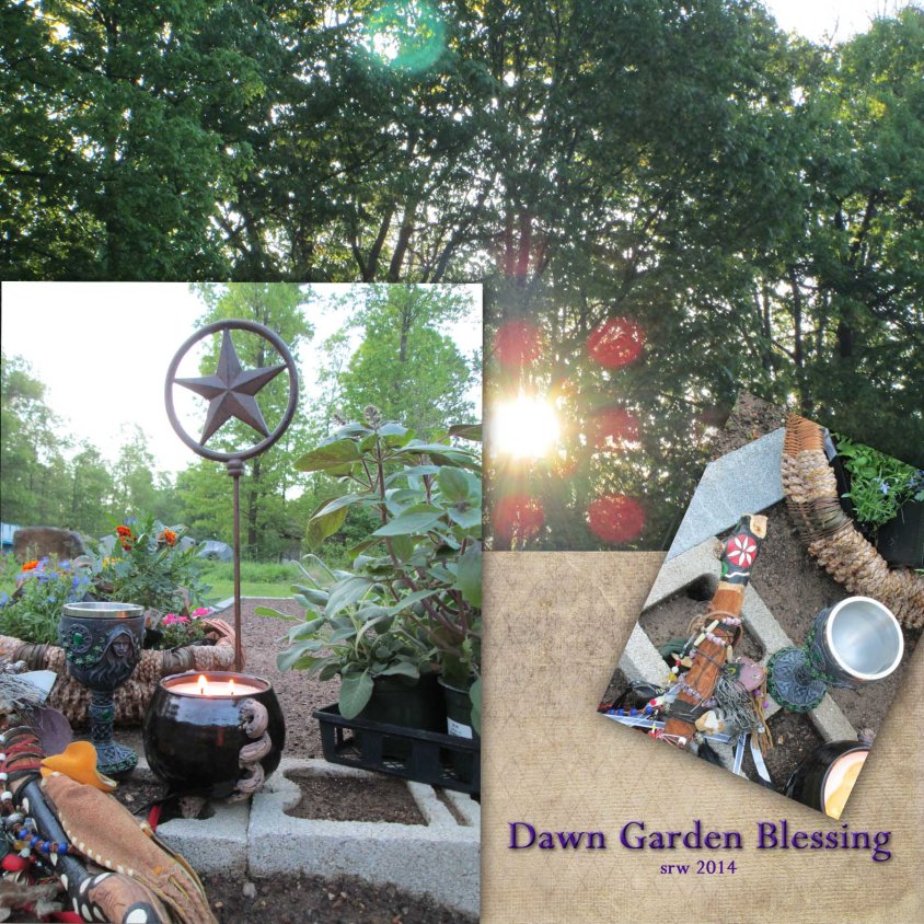 Silver RavenWolf's Garden Blessing Ceremony