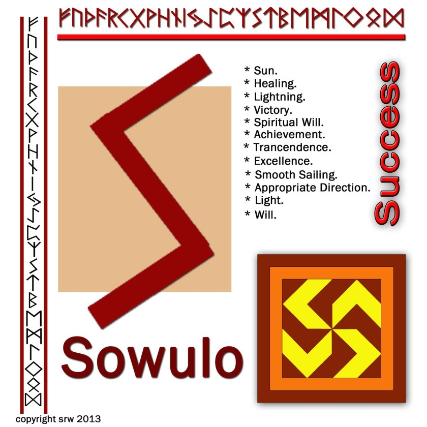 If I drew this rune in response to my question, I know that I should move forward and concentrate on success.