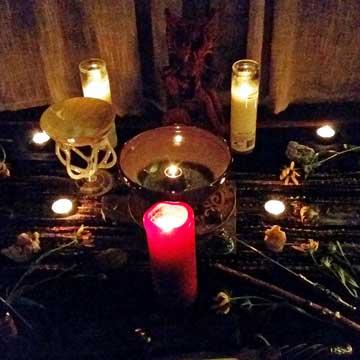 ritual candles