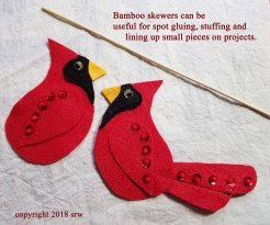 Silver RavenWolf Red Bird
