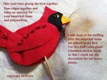 Silver RavenWolf Cardinal