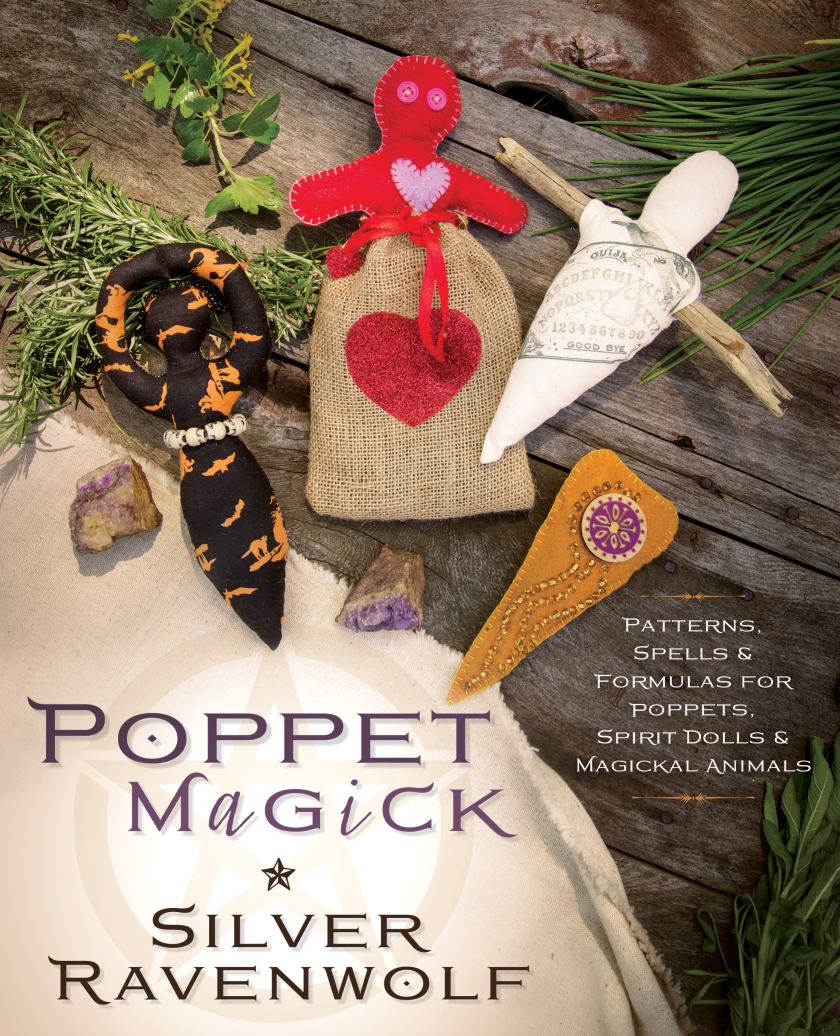Silver RavenWof's Poppet Magick and Spirit Animal Book