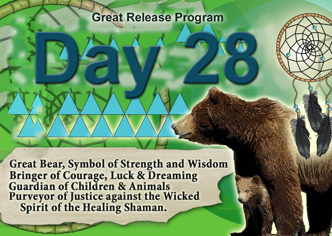 Day 28 – Great Release Program – 28 January 2020- Tuesday – by Silver RavenWolf